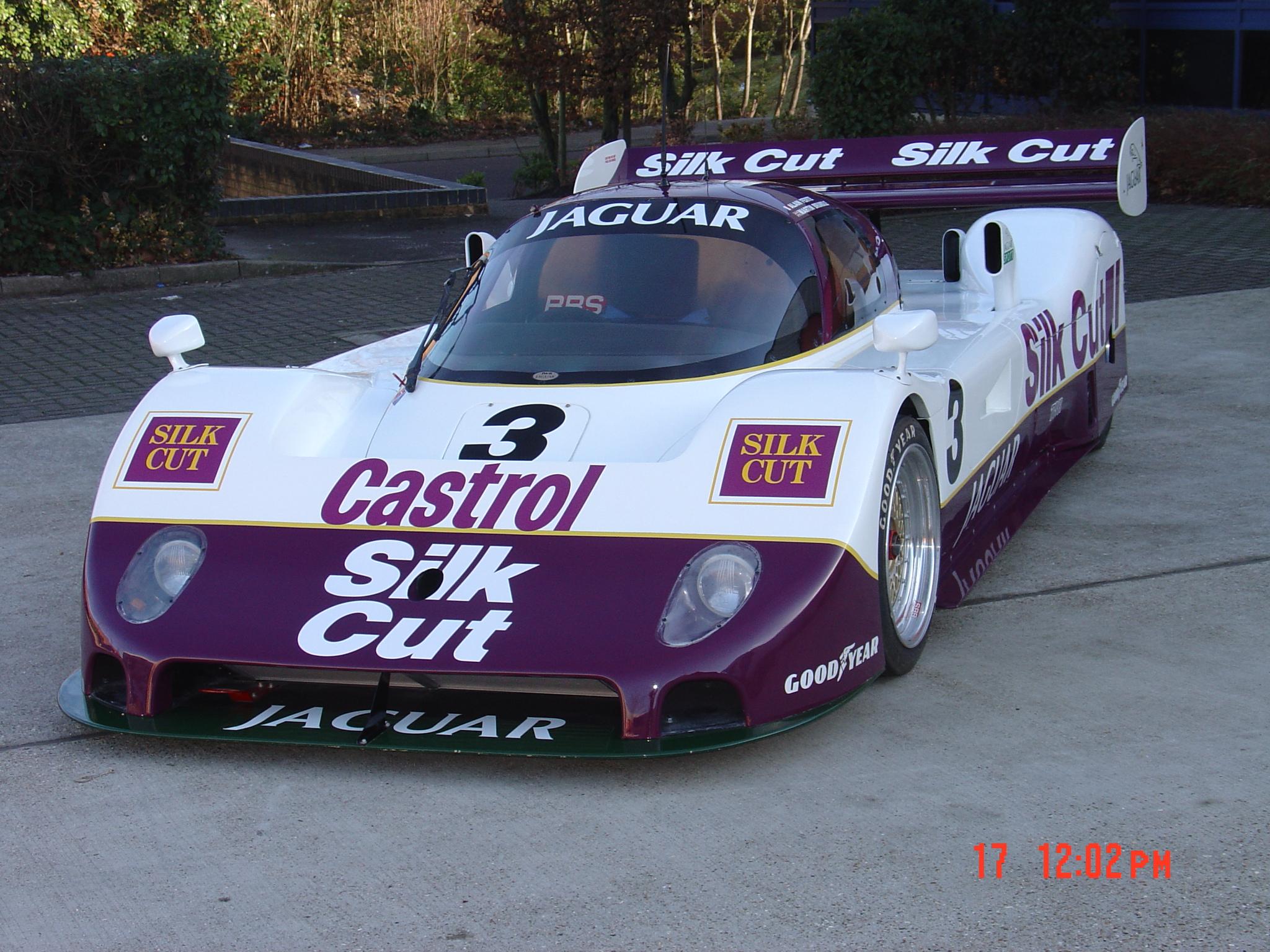 xjr 11 silk cut jaguar group c show car now sold - group 6 sports cars