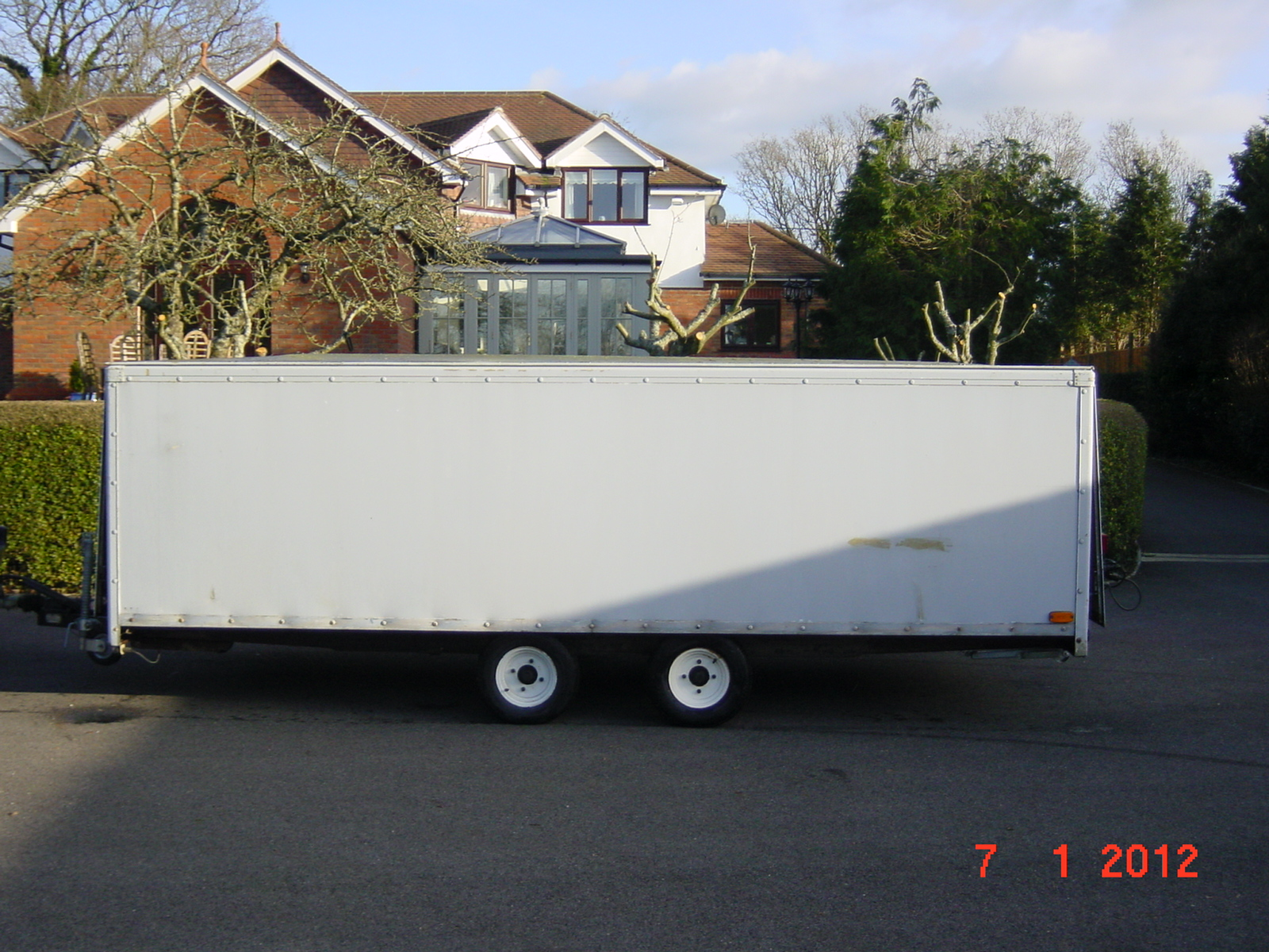 Large Box Trailer Sold Group 6 Sports Cars