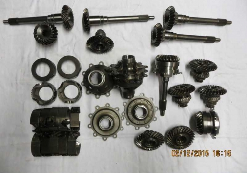 X-Trac Gearbox Parts.